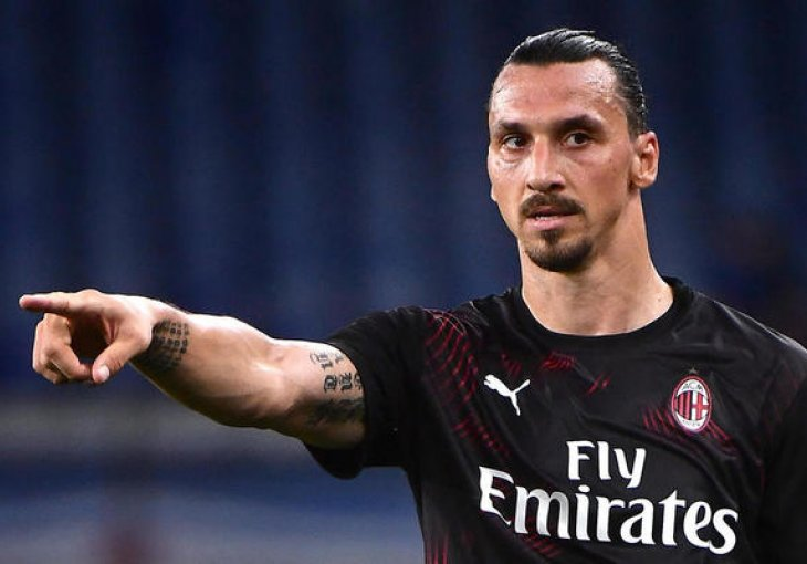 In last minutes Ibrahimovic made a new record in Milan!